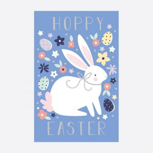 Hoppy Easter Bunny Set of 6 Cards