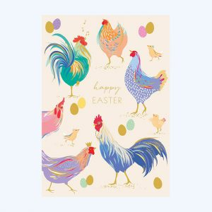 Sara Miller Easter Chicken Card