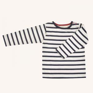 Long Sleeve T-Shirt Breton Stripe White/Navy