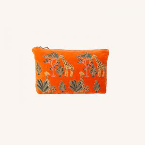 Giraffe Everyday Travel Pouch Orange