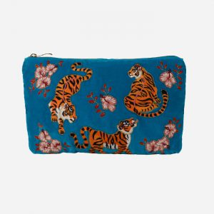 Tiger Everyday Travel Pouch Azure