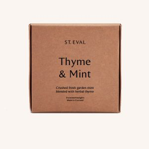 Thyme & Mint Tealights Set