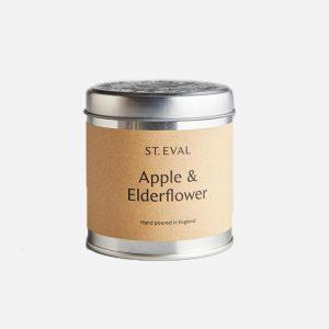 Apple & Elderflower Tin Candle