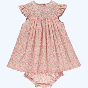 Belinda Frill Sleeve Baby Dress