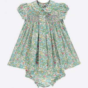Petal Liberty Print Baby Dress
