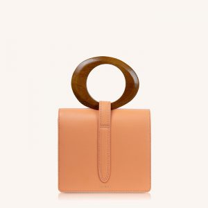 Abbey Handbag Pastel Coral