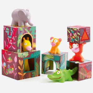 Maxi Topanijungle Building Blocks for Infants
