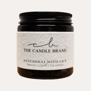 Patchouli & Lily Burn + Bloom Candle