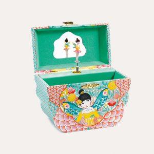 Flowery Melody Music Box