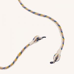 Glasses Cord Mustard/Blue