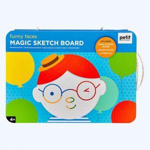 Funny Faces Magic Sketch Board