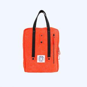 Poly Backpack Orange