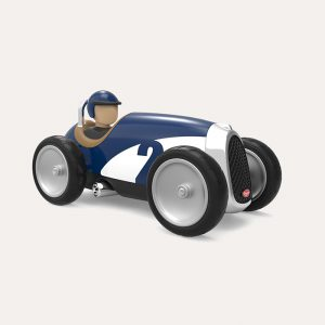 Racing Car White/Blue