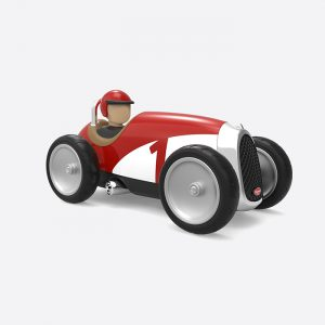 Racing Car White/Red