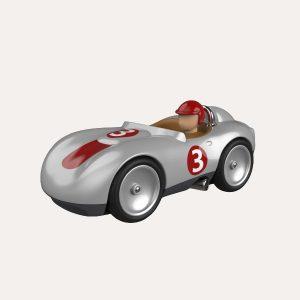 Sports Car Silver