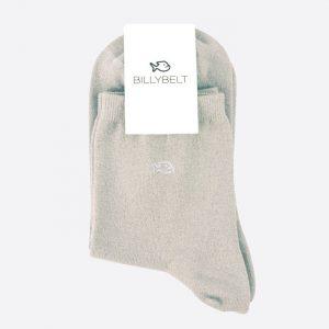 Glitter Socks Christalline White