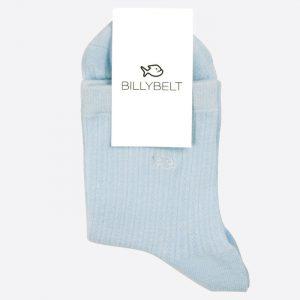 Lace Socks Pastel Blue