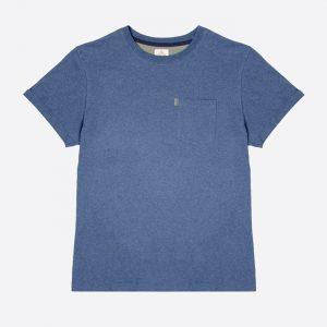 The Baroudeur Tee-Shirt Mottled Navy Blue