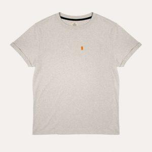 The Baroudeur Tee-Shirt Mottled Grey