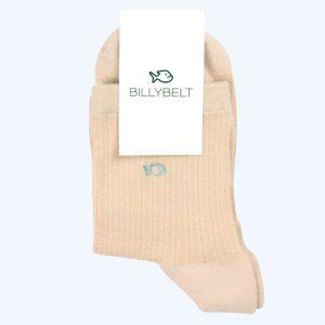 Lace Socks Latte White