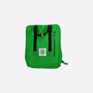 Poly Backpack Green