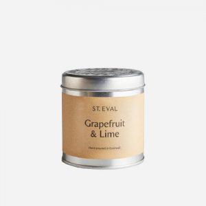 Grapefruit & Lime Tin Candle