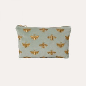 Bee Everyday Travel Pouch Sage Green