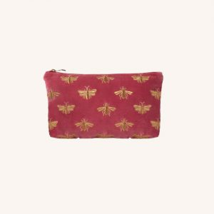 Bee Everyday Travel Pouch Dusky Pink
