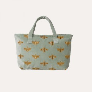 Bee Day Bag Sage Green