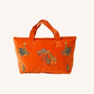 Giraffe Day Bag Orange