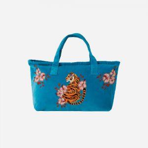 Tiger Day Bag Azure