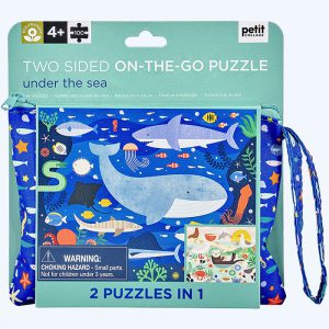 Under The Sea Two Sided On-The-Go Puzzle