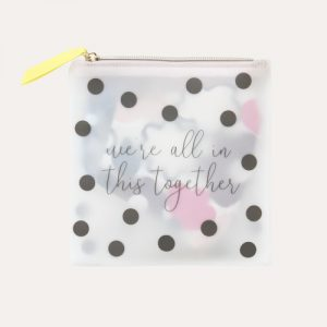 Scattered Spot Face Mask Pouch