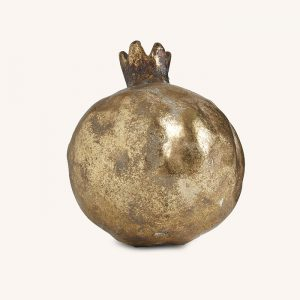 Gold Decorative Pomegranate