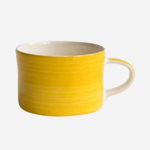 Handmade Mug Turmeric Plain Wash
