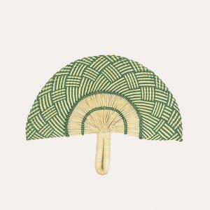 Handwoven Fan Green