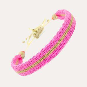 Captain Bracelet Pink/Beige