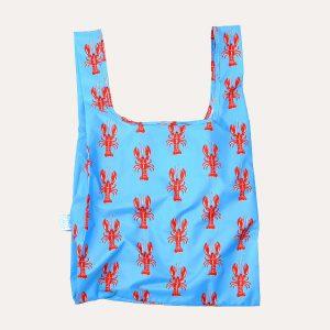 Lobster Recycled Plastic Medium Shopper