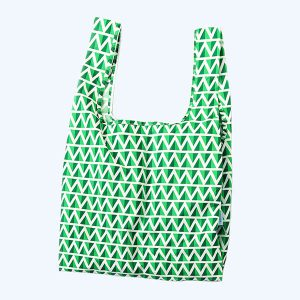 Mint Recycled Plastic Medium Shopper