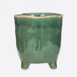Forest Green Positano Indoor Pot