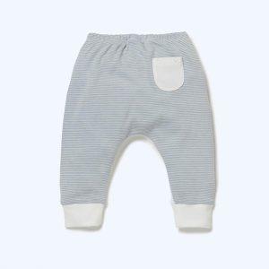 Yoga Pants Blue Stripe
