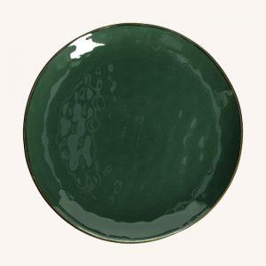 Concerto Round Platter Forest Green