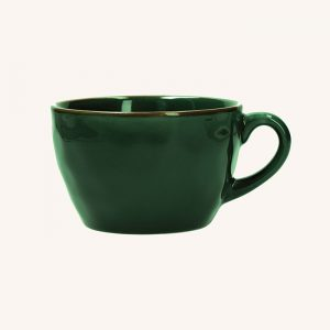 Concerto Breakfast Cup Forest Green