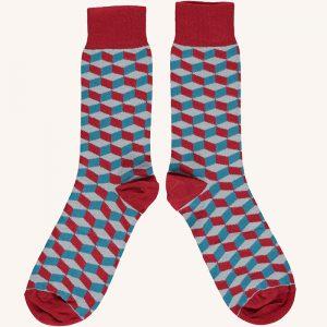 Cotton Cube Ankle Socks