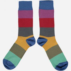 Cotton Block Ankle Socks