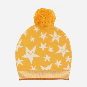 Liz Star Knitted Hat Ochre