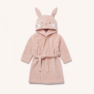 Bunny Bath Robe Blush