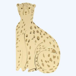 Cheetah Sticker & Sketchbook