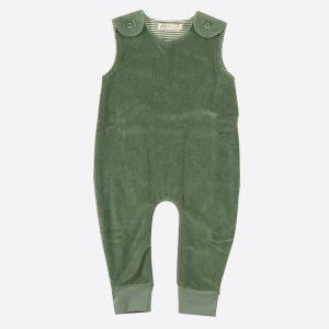 Velour Playsuit Green