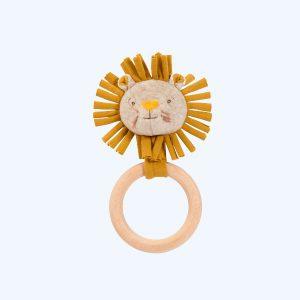 Sous Mon Baobab Lion Ring Rattle